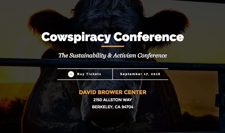 cowspiracy conference